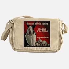 Bunnicula Rabbitry Cavies Logo 2013 Messenger Bag
