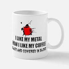 Metal and Coffee Mug
