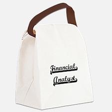 Financial Analyst Artistic Job De Canvas Lunch Bag