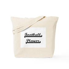 Football Player Artistic Job Design Tote Bag