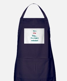 Cow Thing Apron (dark)