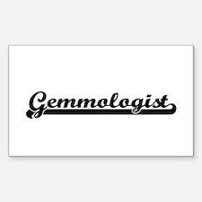 Gemmologist Artistic Job Design Decal