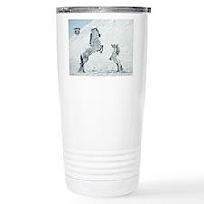 Rearing Stallion W Mini Travel Mug