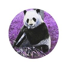 Cute Panda bears Button