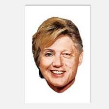 Billary Clinton Postcards (Package of 8)