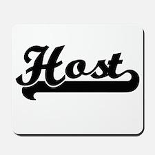 Host Artistic Job Design Mousepad