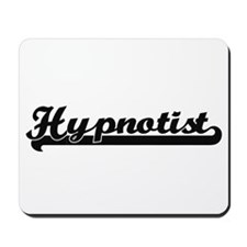 Hypnotist Artistic Job Design Mousepad