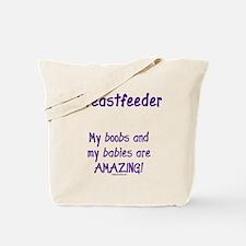 Funny Lactivist Tote Bag