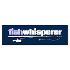 fishwhisperer Bumper Bumper Sticker