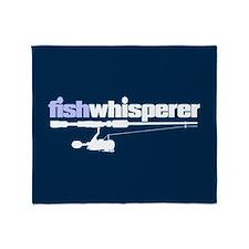 Fishwhisperer Throw Blanket