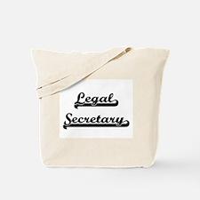 Legal Secretary Artistic Job Design Tote Bag