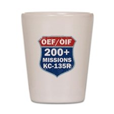 200 Msn KC-135 Shot Glass