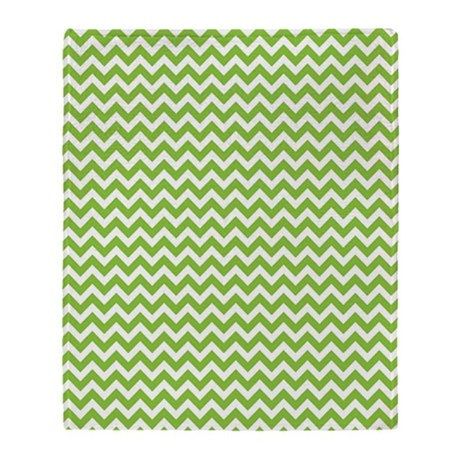 lime green chevron throw blanket by 1512blvd. Black Bedroom Furniture Sets. Home Design Ideas