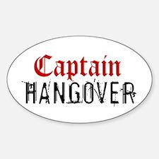 Captain Hangover Decal