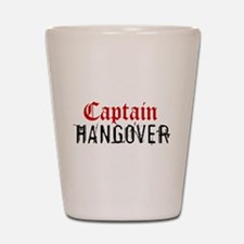Captain Hangover Shot Glass