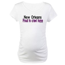 NOLA Proud To Crawl Home Shirt
