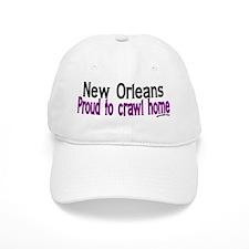 NOLA Proud To Crawl Home Baseball Cap