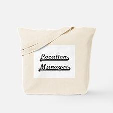 Location Manager Artistic Job Design Tote Bag