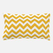 Yellow Chevron Pillow Case