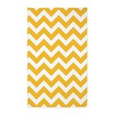 Yellow chevron 3x5 Rugs