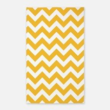 Yellow Chevron Area Rug