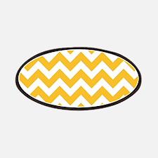 Yellow Chevron Patches