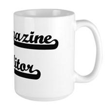 Magazine Editor Artistic Job Design Mugs