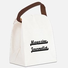 Magazine Journalist Artistic Job Canvas Lunch Bag