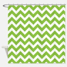 Mint Green Chevron Stripe Shower Curtains Mint Green Chevron