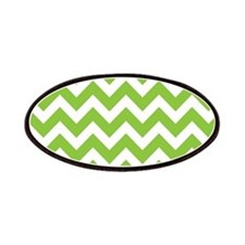 Lime Green Chevron Patches