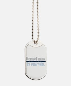 Oversized Brains Dog Tags