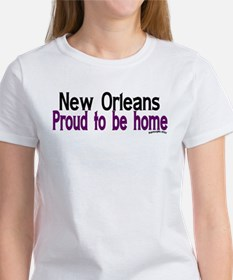 NOLA Proud To Be Home Women's T-Shirt