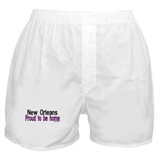 NOLA Proud To Be Home Boxer Shorts