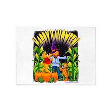 Halloween Scarecrow 5'x7'Area Rug