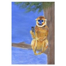 Sammy the Monkey Poster