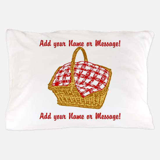 Personalized Picnic Basket Pillow Case