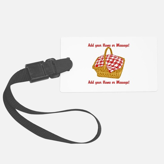 Personalized Picnic Basket Luggage Tag