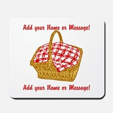 Personalized Picnic Basket Mousepad