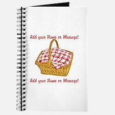 Personalized Picnic Basket Journal