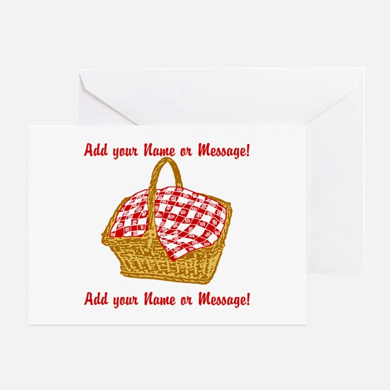 Personalized Picnic Basket Greeting Card