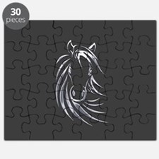 Silver Horse Puzzle