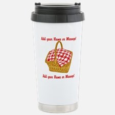 PERSONALIZED Picnic Basket Graphic Travel Mug