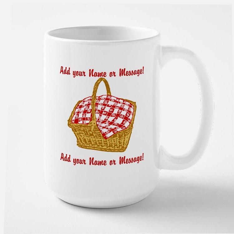 PERSONALIZED Picnic Basket Graphic Mugs