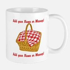 PERSONALIZED Picnic Basket Graphic Mugs