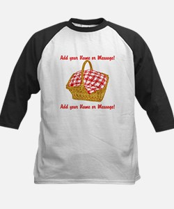 PERSONALIZED Picnic Basket Graphic Baseball Jersey