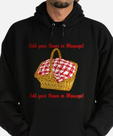 PERSONALIZED Picnic Basket Graphic Hoodie