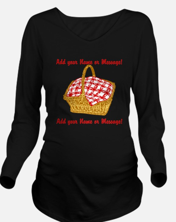 PERSONALIZED Picnic Basket Graphic Long Sleeve Mat