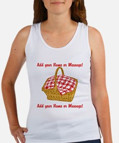 PERSONALIZED Picnic Basket Graphic Tank Top
