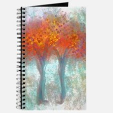 Dazzling Trees in Reds and Orange Journal