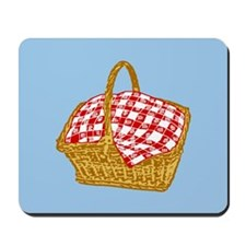 Picnic Basket Graphic Mousepad